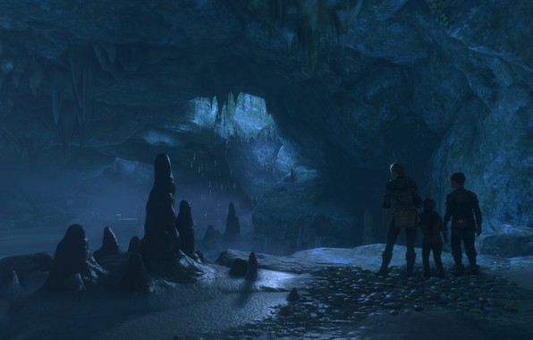 Picture cave, a plague tale: innocence, groundwater