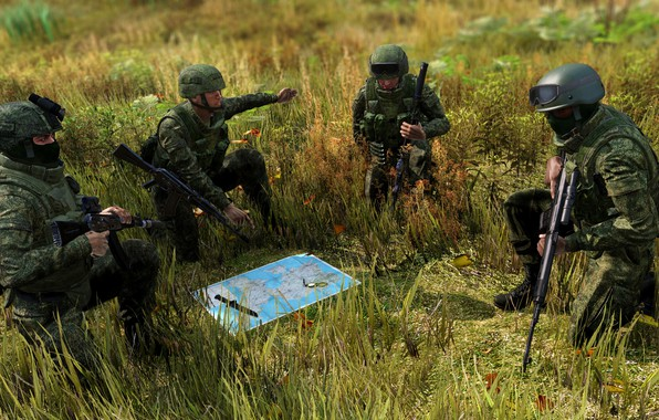 Picture FOREST, GRASS, GREENS, SUMMER, RUSSIA, ARMA, ARMA 3, ARMY, ARMAGH