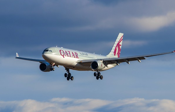 Picture liner, Airbus, Qatar Airways, A330-202