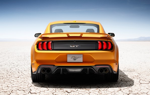 Picture yellow, Mustang, Shelby, Machine