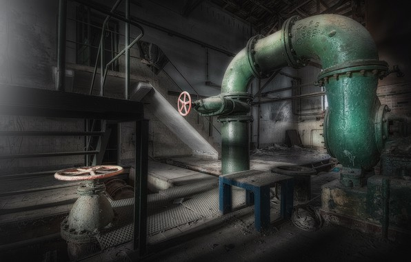 Picture pipe, background, valve