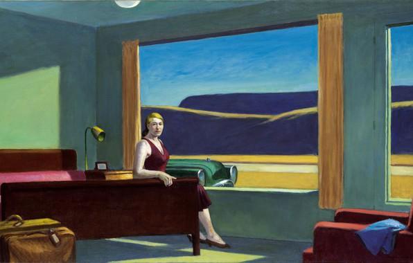 Picture 1957, Edward Hopper, Western Motel