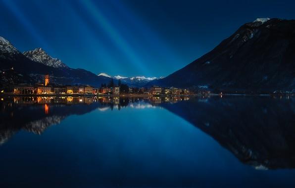 Picture Italy, Lombardy, municipality, Porlezza