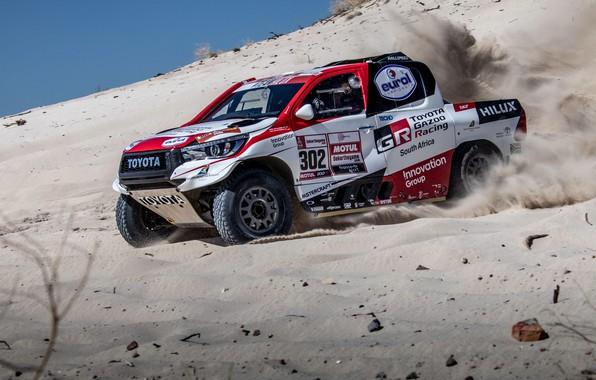 Picture Toyota, Rally, Dakar, Toyota Hilux, 2019, Toyota Hilux Rally Dakar 2019