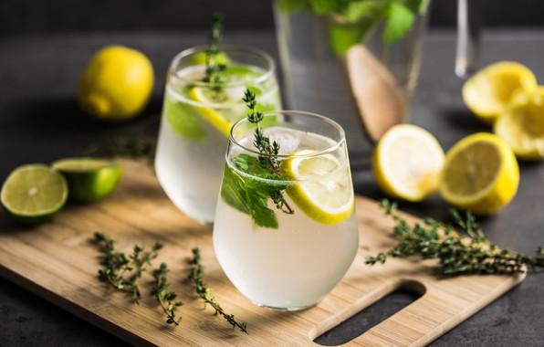 Picture lemon, lemon, drink, water, lemonade, lemonade, vitamins
