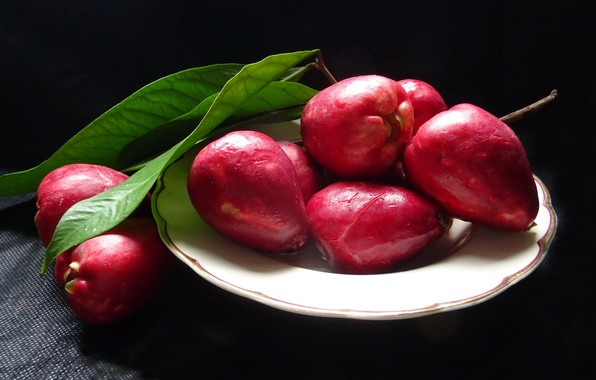 Picture food, fruit, Malay Apple