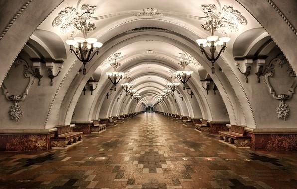 Picture the city, metro, interior