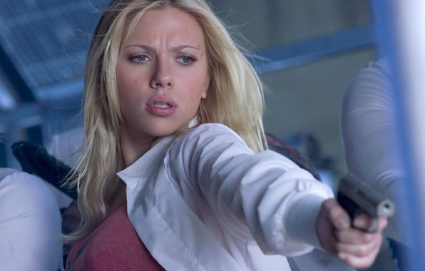 Picture girl, Island, actress, Scarlett Johansson, The Island, the arms