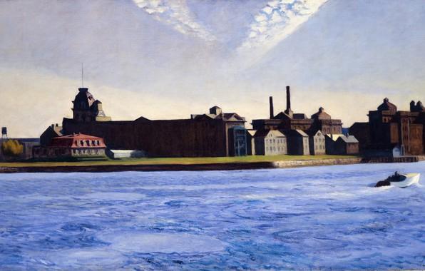 Picture 1928, Edward Hopper, Blackwell's Island