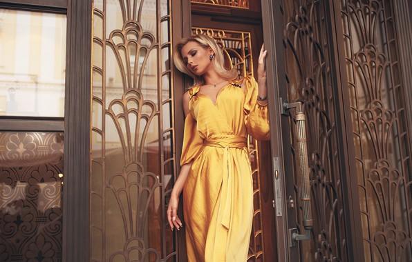 Picture girl, pose, style, model, dress, Rome Rome, Oksana Streltsova