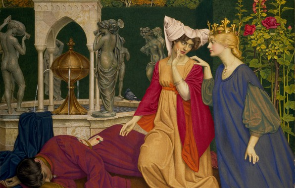 Picture 1909, Joseph Edward Southall, The substitution of the letter