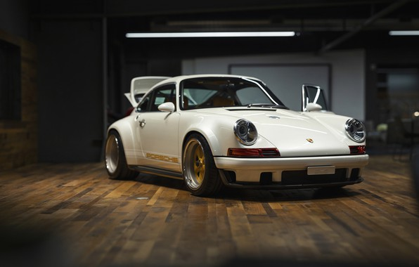Picture White, Custom, Sportcar, Porsche 930