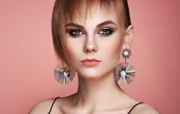 Picture girl, style, model, haircut, makeup, hairstyle, photographer Oleg Gekman