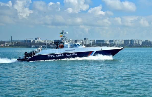 Picture boat, security, the black sea, coast
