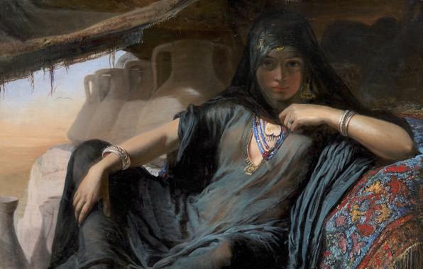 Picture Danish painter, oil on canvas, Statens Museum for Kunst Copenhagen, National Gallery of Denmark, Danish …