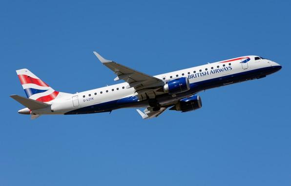 Picture liner, British Airways, Embraer, ERJ-190