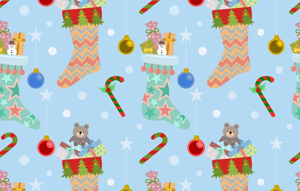Picture decoration, background, pattern, New Year, Christmas, Christmas, background, pattern, New Year, decoration, xmas, Merry, seamless