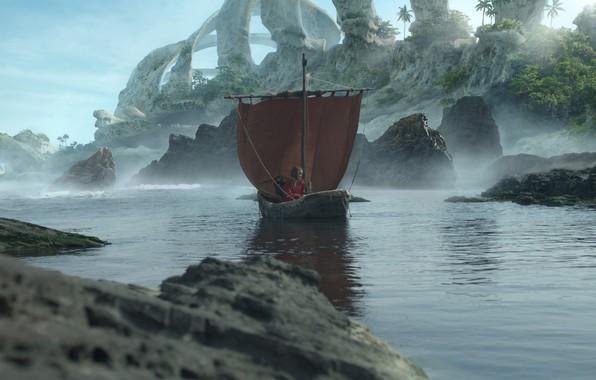 Picture boat, skeleton, Olga Antonenko, He is a dragon
