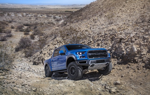Picture Ford, Raptor, F-150, The roads, 2019, Ford F-150 Raptor