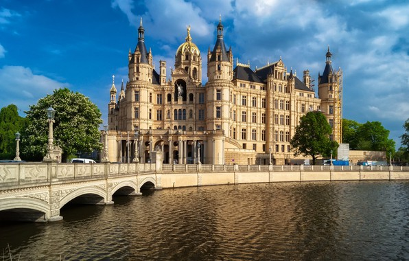 Picture the city, Germany, Castle Schwerin