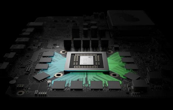 Picture art, Xbox, Project Scorpio, Processor