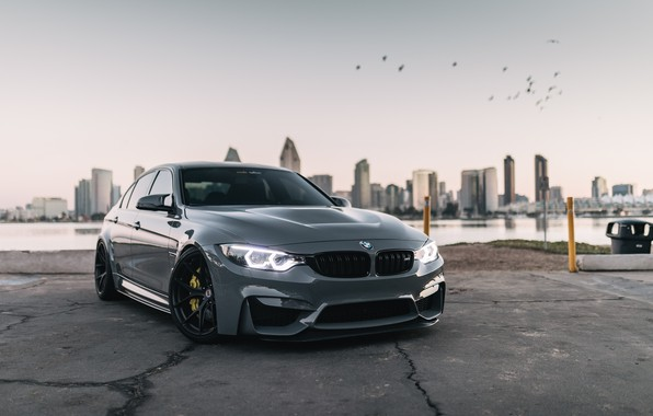 Picture BMW, City, Angel Eyes, F80, Graphite, LED