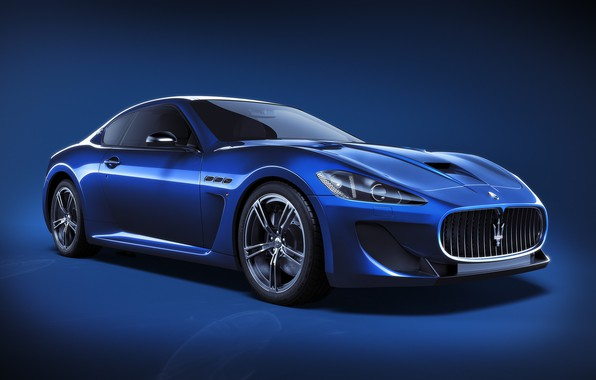 Picture Maserati, Auto, Blue, Machine, Car, Art, Render, Design, Supercar, Supercar, Sports car, Sportcar, CGI, Transport …