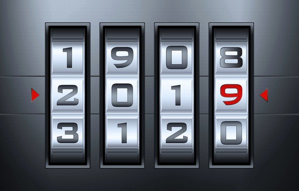 Picture figures, New year, New Year, 2019