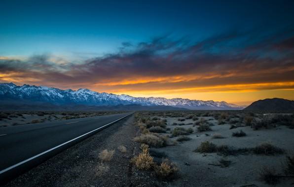 Picture california, desert, owens valley, eastern sierras