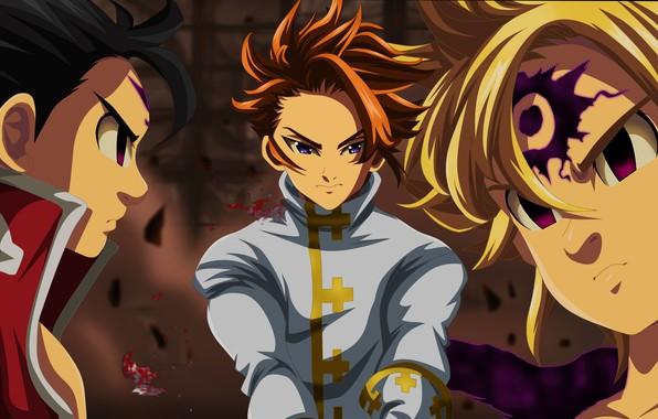 Picture Arthur, Meliodas, Nanatsu no Taizai, Nanatsu no Taizai - The Seven Deadly Sins, Zeldris