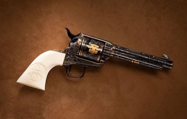 Picture Colt, Revolver, Weapon