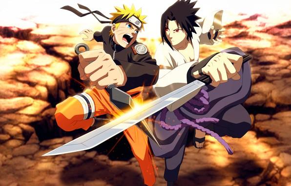 Wallpaper sword, Sasuke, Naruto, Naruto, kunai, Naruto ...