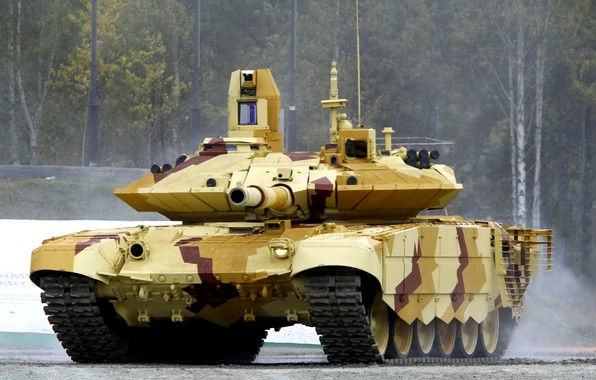 Picture tank, upgraded, UVZ, T-90MS, The armed forces of the Russian Federation, export version