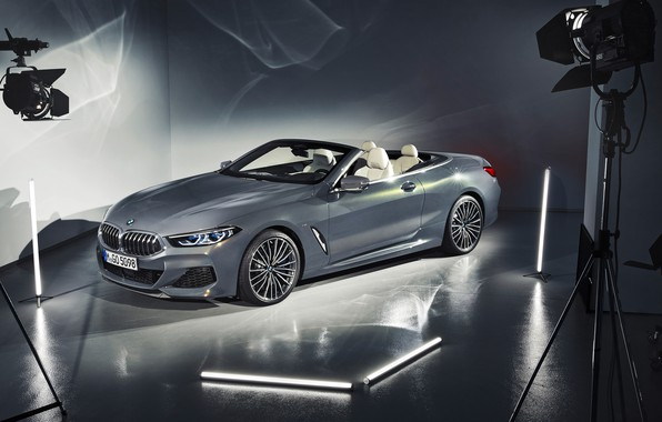 Picture BMW, convertible, 2018, Cabrio, xDrive, 8-Series, M850i
