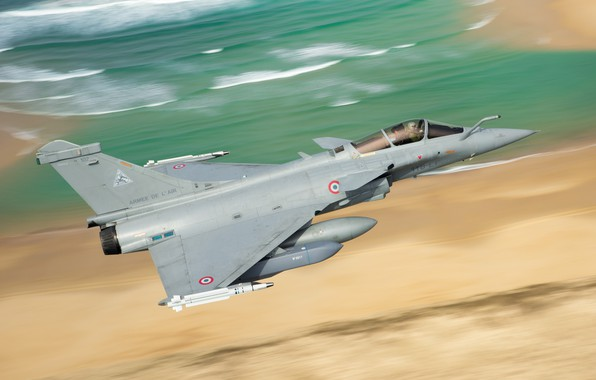 Picture Fighter, Rocket, Dassault Rafale, The French air force, Air force, PTB, MBDA MICA, Rafale D