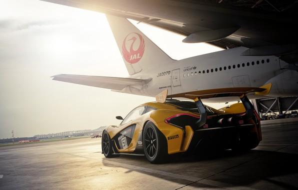 Picture rendering, McLaren, GTR, Gran Turismo, McLaren P1, Gran Turismo Sport