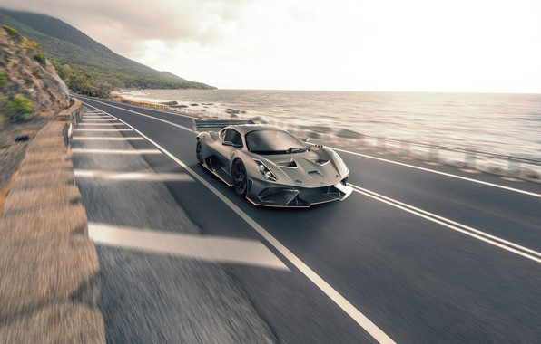 Picture coast, supercar, 2019, Brabham, BT62, Road Compliance Conversion