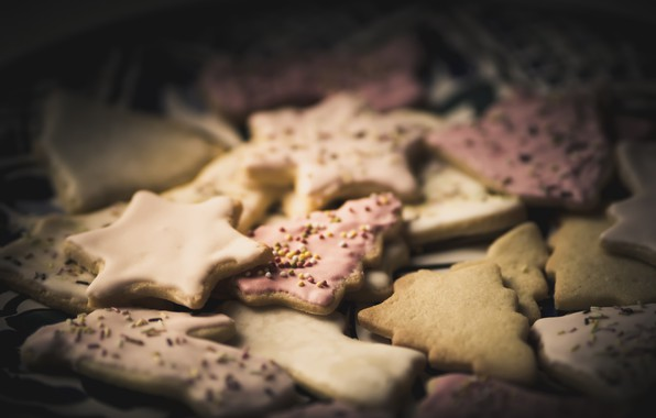 Picture childhood, holiday, cookies, Association
