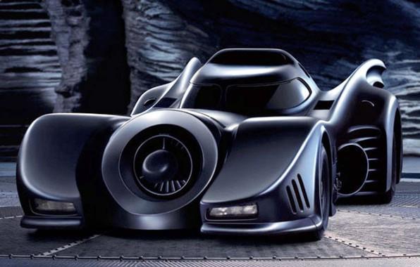 Picture Batman, Batmobile, Bruce Wayne, Black car