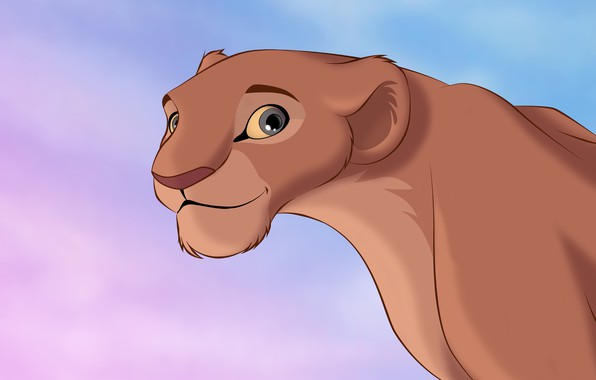 Picture figure, Leo, cartoons, lioness, The Lion King, cartoons, The Lion King, Nala, Nala