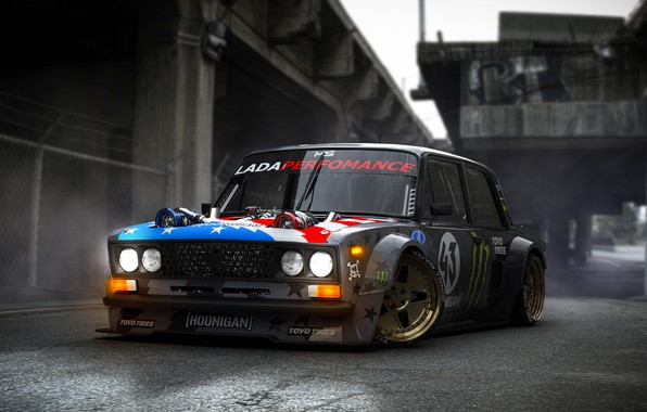 Picture Car, Lada, Front, 2106, Vaz, Hoonicorn