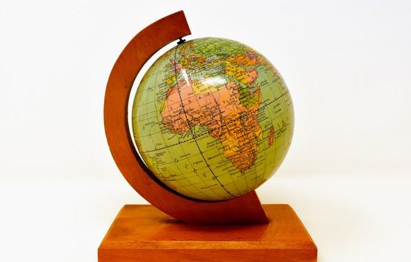 Picture old, globe, pretty soon