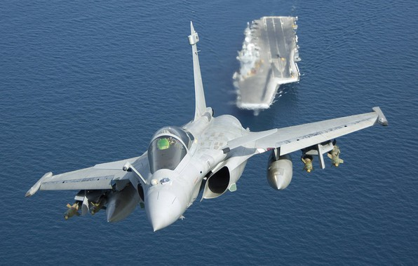 Picture Bombs, The carrier, Dassault Rafale, Rafale M, French Navy, Charles de Gaulle (R91), Dassault Rafale …