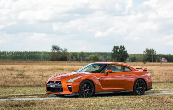 2017 Nissan Gtr Wallpaper: Wallpaper GTR, Orange, 2017, NIssan Images For Desktop