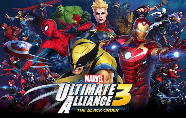 Picture Team Ninja, Nintendo Switch, Marvel Ultimate Alliance 3: The Black Order