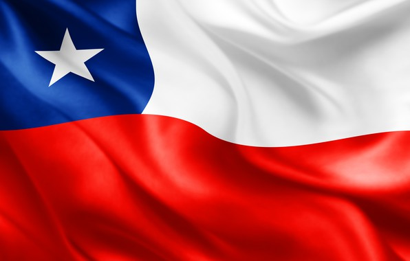 Picture background, star, flag, star, fon, flag, Chile, chile