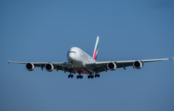 Picture flight, liner, Airbus, A380-861