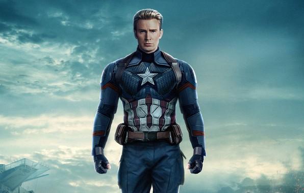 Picture Captain America, Chris Evans, Steven Rogers, Avengers 4