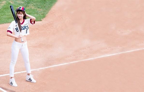 Picture sand, baseball, Asian, bit
