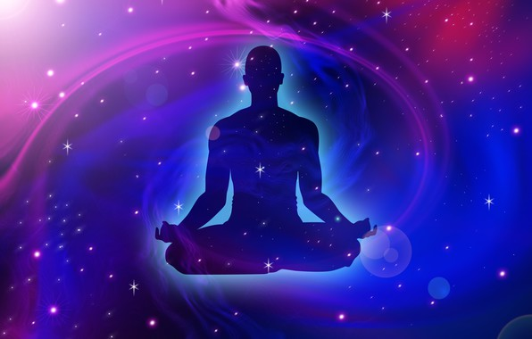 Picture space, stars, pose, yogi, asana, stars, cosmos, pose, asana, вселенское спокойствие, universal calm, yogi